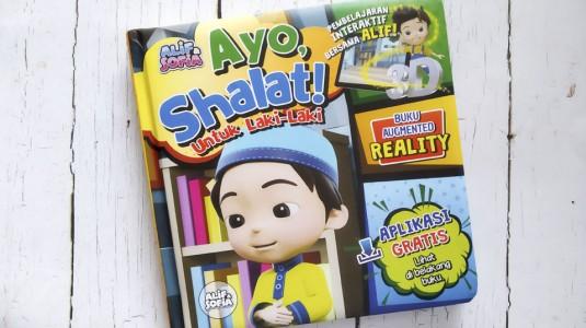 Review Augmented Reality Book: Ayo, Shalat! Untuk Laki-Laki