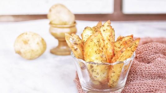Potato Wedges, Snack Alergi untuk Rasyid
