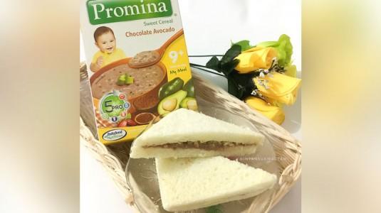 MPASI Super Simpel: Roti Selai Coklat Alpukat Promina