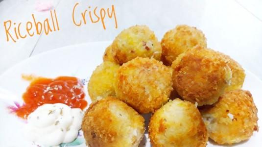 Resep Rice Ball Crispy Cara Beda Menikmati Nasi