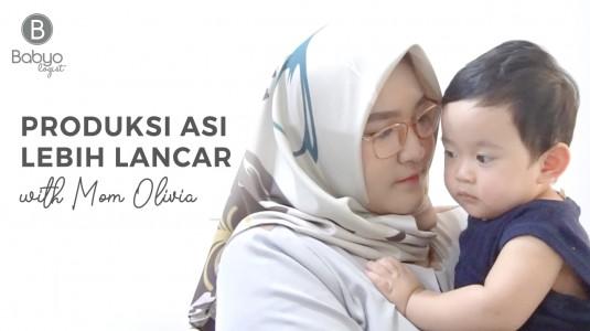 Babyo Story with Mom Olivia: Meningkatkan Kualitas ASI