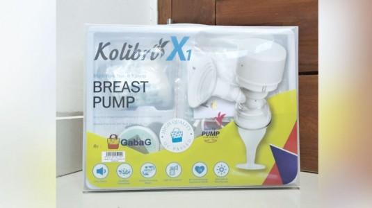Review: Breastpump Gabag Kolibri X1