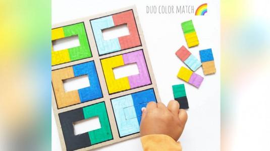 Ide Bermain Anak - Duo Color Match