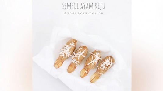 Resep MPASI Sempol Ayam Keju (12M+)
