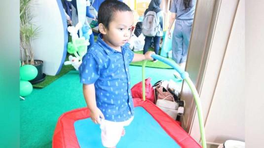 Review ELC Junior Trampoline by Mom Trie