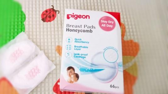 Bye Bye ASI Bocor dengan Disposable Breastpad Pigeon