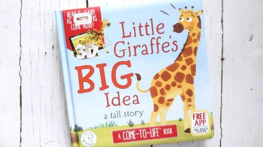 Review Augmented Reality Book: Little Giraffes Big Idea