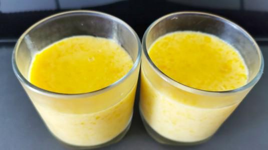 Pudding Mangga Susu