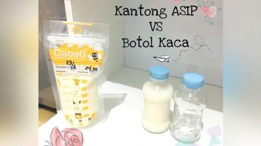 Media Penyimpanan ASIP: Kantong ASIP vs Botol Kaca