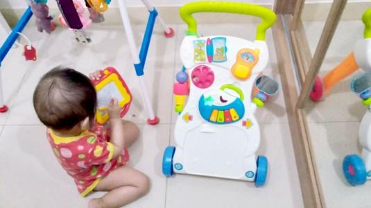 Permainan Motorik Memberi Manfaat 3K untuk Putriku