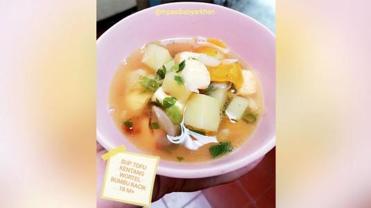 Sayur Sop Kentang Tofu Bumbu Racik (18 M+)