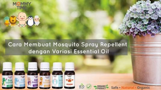 Cara Membuat Mosquito Spray Repellent dengan Variasi Essential Oil