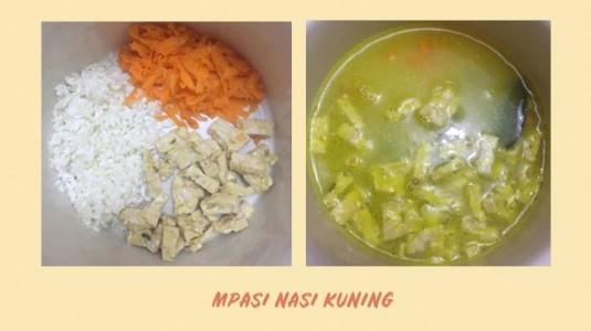 MPASI Nasi Kuning 7M+