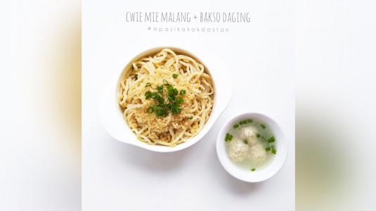 Resep MPASI Cwie Mie Malang + Bakso Daging (12m+)