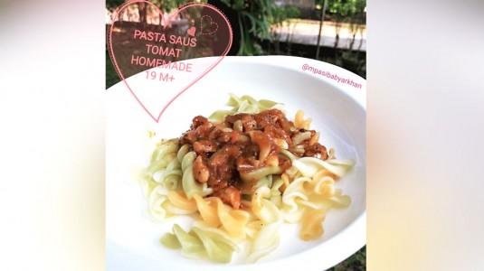 Pasta Saus Tomat Home Made (19M+)