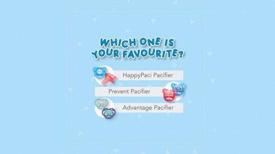 Pacifier Apa yang si Kecil Sukai?