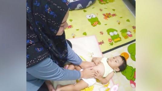 Manfaat Luar Biasa yang Baby Dan Saya Rasakan Dari Pijat I Love U Pada Perut