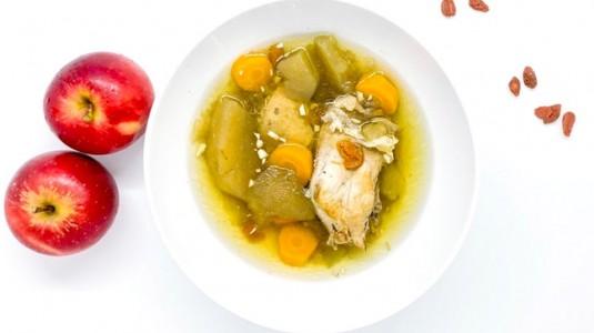 Chicken & Apple Soup (MPASI 1Y+)