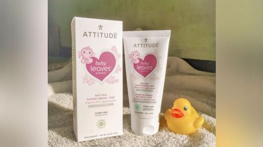 Review: Attitude Natural Diaper Cream - Zinc