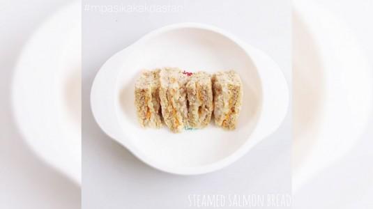 Steamed Salmon Bread - Sarapan Simple untuk si Kecil
