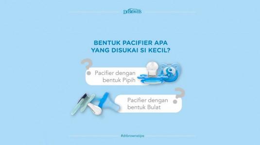 Kenali Bentuk Bulb Pacifier yang Disukai si Kecil