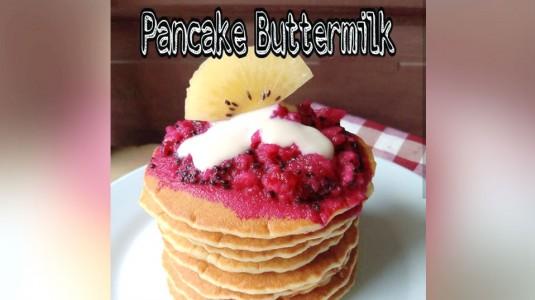 Pancake Buttermilk untuk MPASI