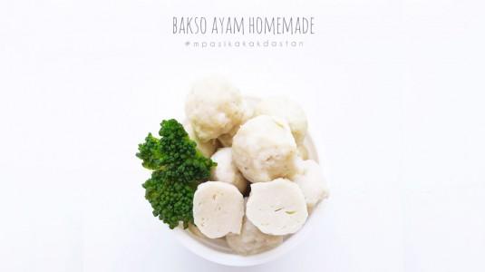 Resep MPASI Bakso Ayam Homemade (12m+)