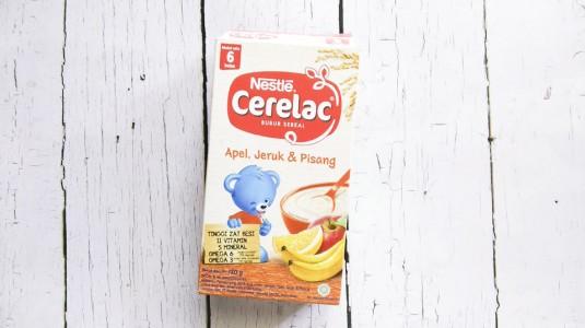 Review Bubur Bayi: Nestle Cerelac Rasa Apel Jeruk & Pisang
