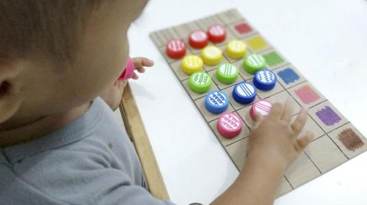 Ide Bermain untuk si Kecil: Matrix Match