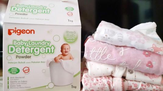 Pigeon Baby Laundry Detergent: Sekali Kucek Noda Membandel Lenyap
