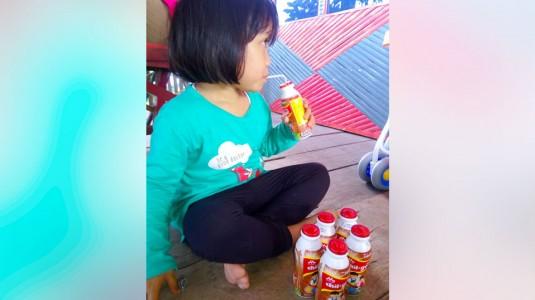 Review Susu Chil Go dari Morinaga: Bekal Praktis ke Sekolah untuk Ghaitsa