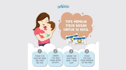 Tips Memilih Tisu Basah untuk si Kecil