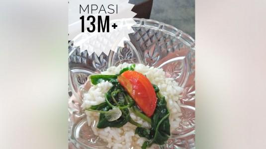 MPASI Sederhana, Bening Kangkung (13 M+)