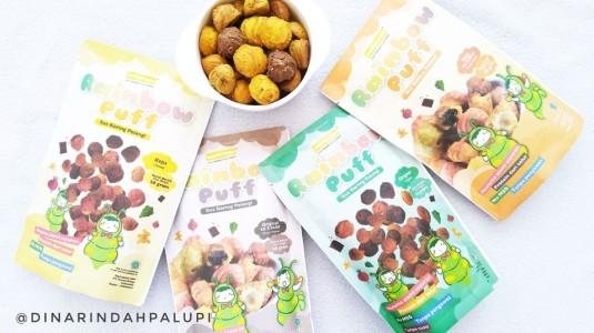 Rainbow Puff - Snack Sehat untuk si Kecil