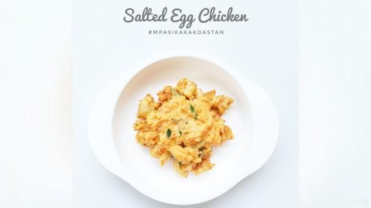 Resep MPASI Salted Egg Chicken (12M+)