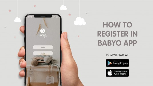 How to Register in Babyo App