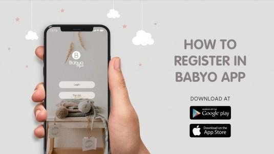 How to Register in Babyo App