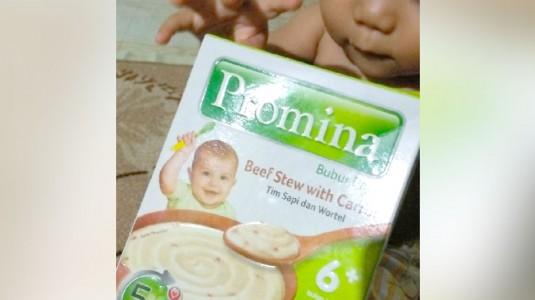 Review Bubur Bayi Promina: Cita Rasa Berbeda untuk MPASI Ghilman