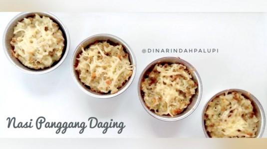 Resep MPASI Nasi Panggang Daging (12M+)