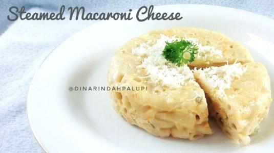 Resep MPASI Steamed Macaroni Cheese (12M+)