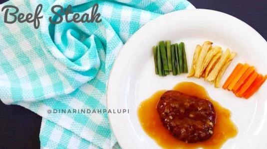 Resep MPASI Beef Steak (12M+)