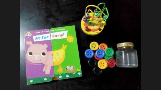 Alternatif Mainan Pengganti Gawai untuk Balita