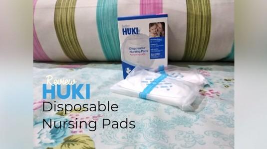 Review Baby Huki Disposable Nursing Pads - si Breastpads Ekonomis
