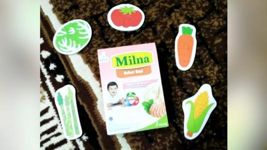 Review Bubur Bayi Milna Salmon Cah Bayam