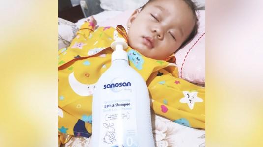 Sanosan Baby Wash and Shampoo: Penempuan Terbaruku yang Ampuh