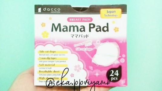 Review Disposable Breast Pads Dacco Mama Pad: Pencegah ASI Merembes