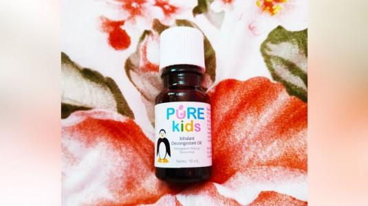 Review Pure Kids IDO Pereda Hidung Tersumbat si Kecil