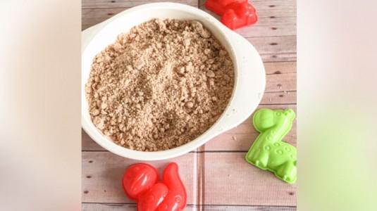 Pasir Homemade, Memuaskan si Kecil Bermain Pasir