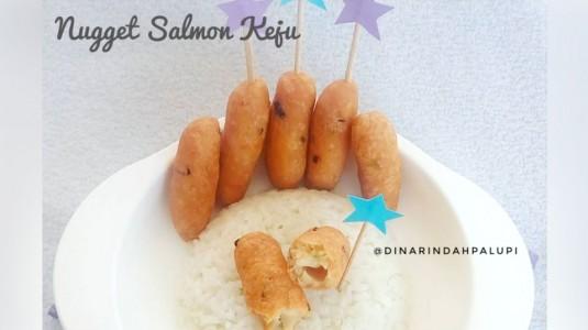 Resep MPASI Nugget Salmon Keju (12M+)