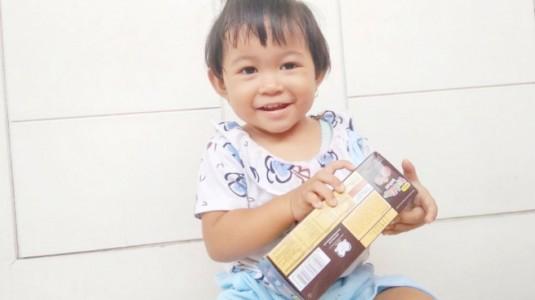 Review Cemilan Kesukaan Kakak: Milna Toddler Biskuit